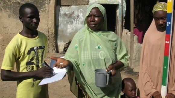 Three fundraisers work in Nigeria.