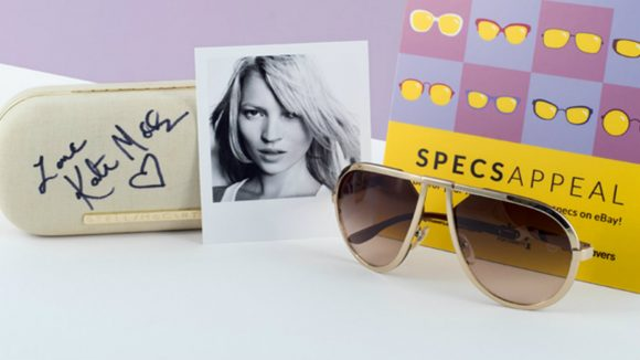 Kate Moss's glasses from the auction.
