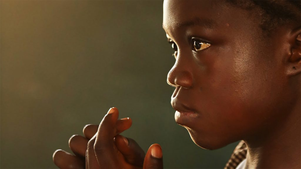 A girl from Sierra Leone, Africa