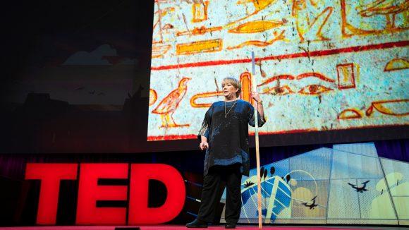 Sightsavers VD Caroline Harper vid TED 2018.